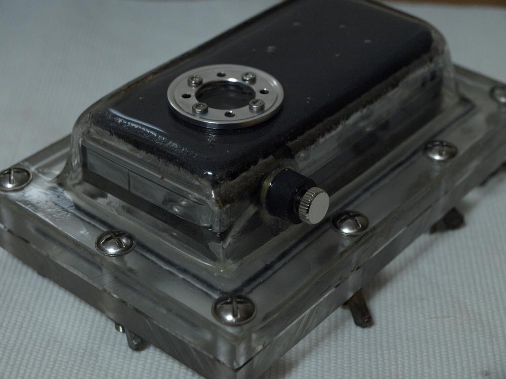 DIY flip minoHD quality underwater case