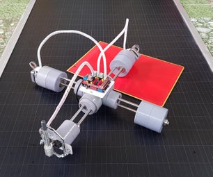P-CNC Plotter Disguised As a Quadruped Robot
