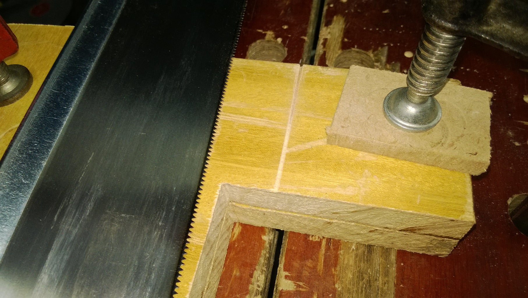 Making the Mitre Box