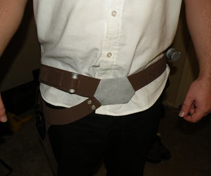 Star Wars Han Solo Belt Gun Holster