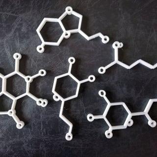 Molecule Ornaments