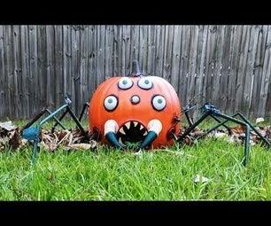 Animated Pumpkin With Motion Sensor