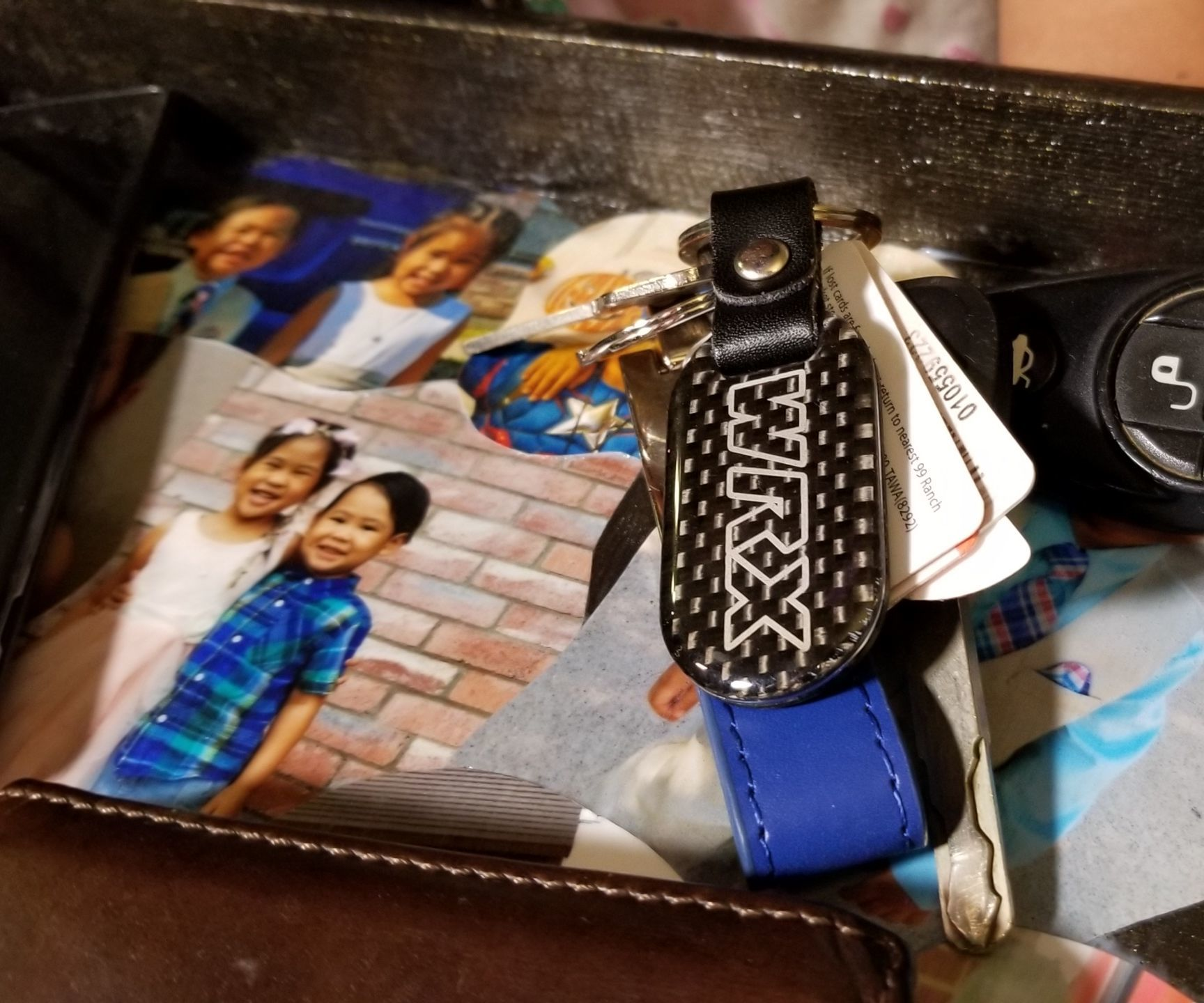 DIY Photo Collage Accessories Organizer/Tray for Father's Day