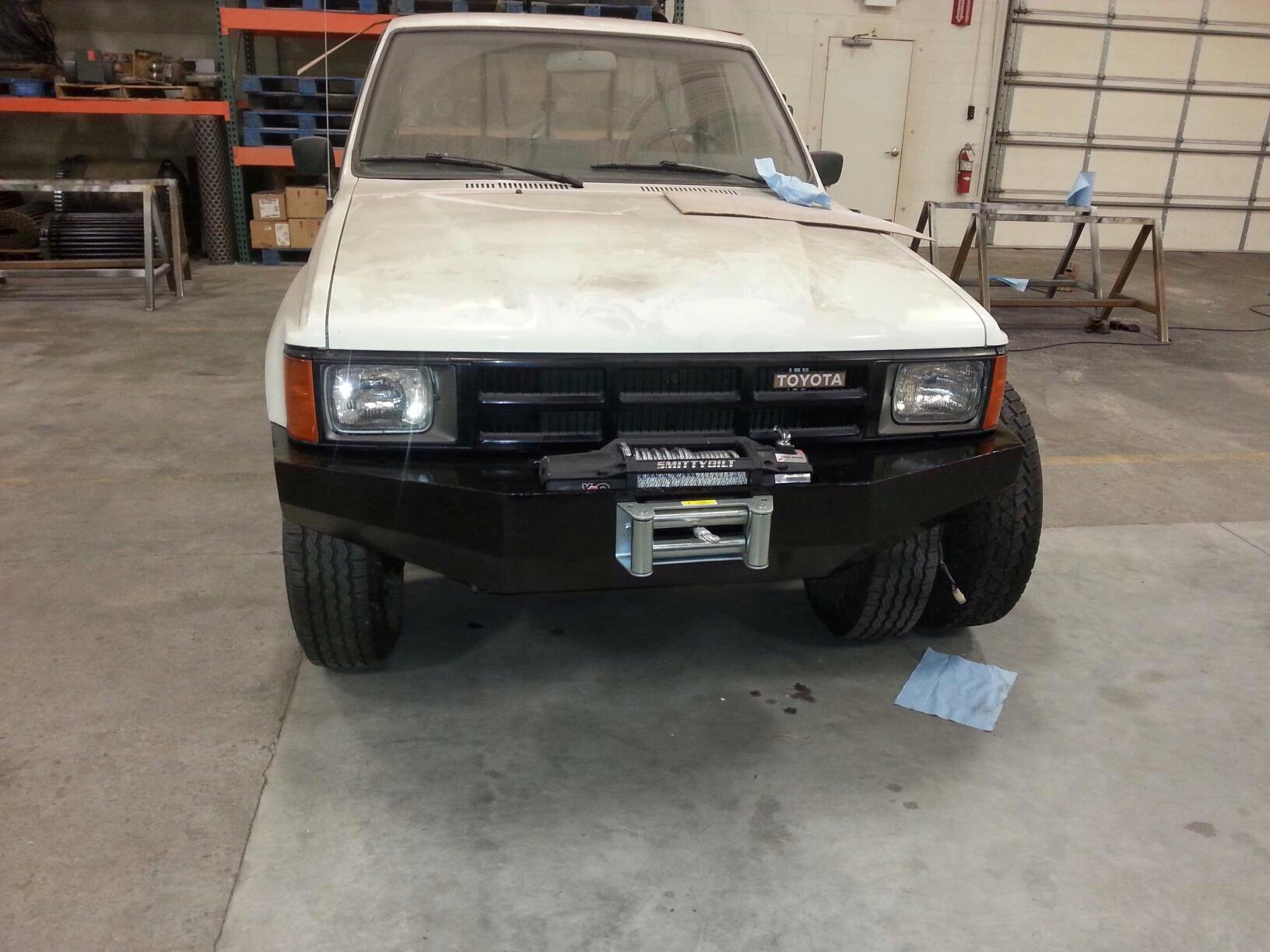 1984 Toyota Pickup Bumper