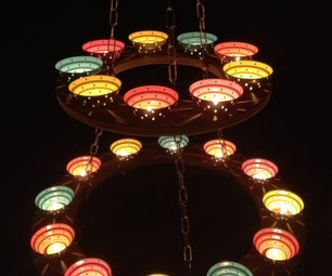 Tea Light Chandelier