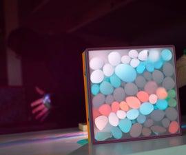 构建彩虹灯箱以使像素化阴影