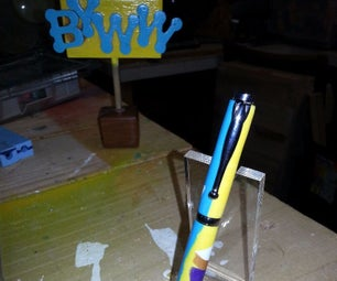 Polymer Clay Ink Pen