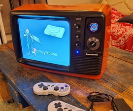 Portable Retrogaming TV