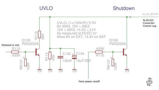 Shutdown/UVLO Settings