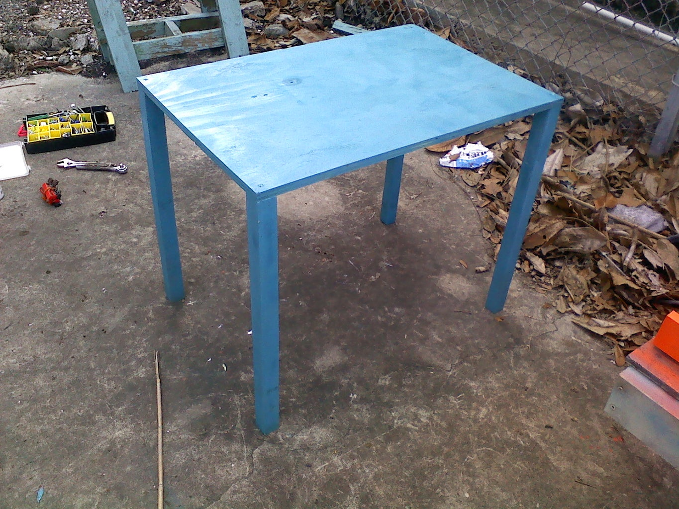 Building the Table/ Front Tire Stand
