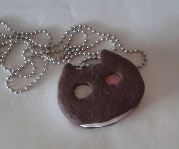 Steven Universe Cookie Cat Necklace