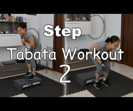 Intense Step Tabata Cardio