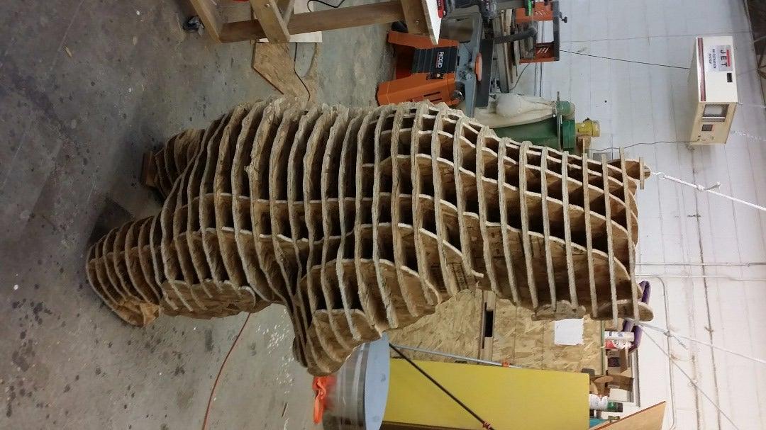 Assembling the Big Bear!