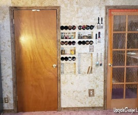 Cardboard Wall, Door Trim and Baseboard
