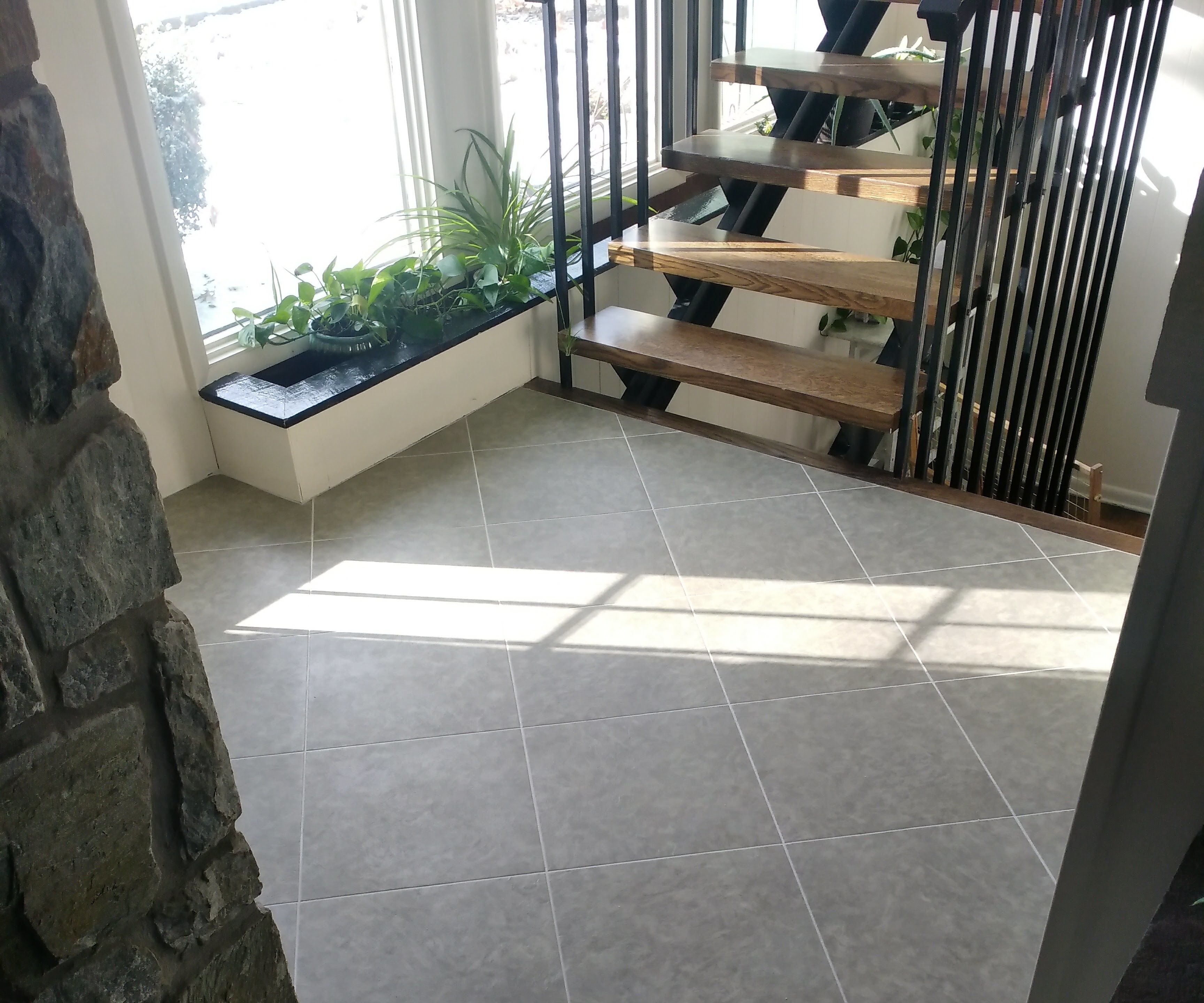 Installing a Luxury Vinyl Tile Floor