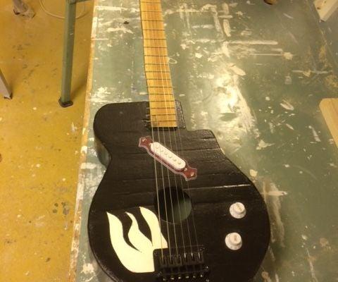My Home Built Guitar