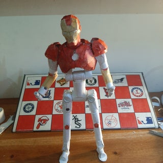 How to Make a Paper Action Figure