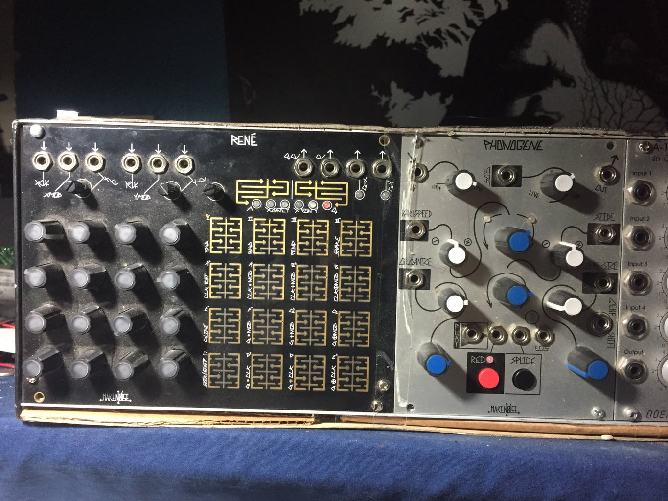 The Modules and Patch Used