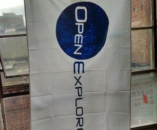DIY Portable Expedition Flag