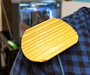 3D Printed Chip on Shoulder Costume