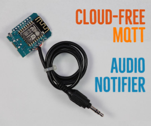 DIY WiFi音频通知器用于ESP8266:播放MP3,TTS和RTT(无云)