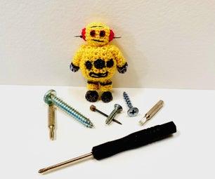 钩针编织你自己的赋予者机器人