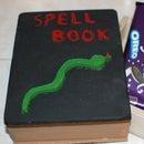 Halloween Treat Wooden Spell Book