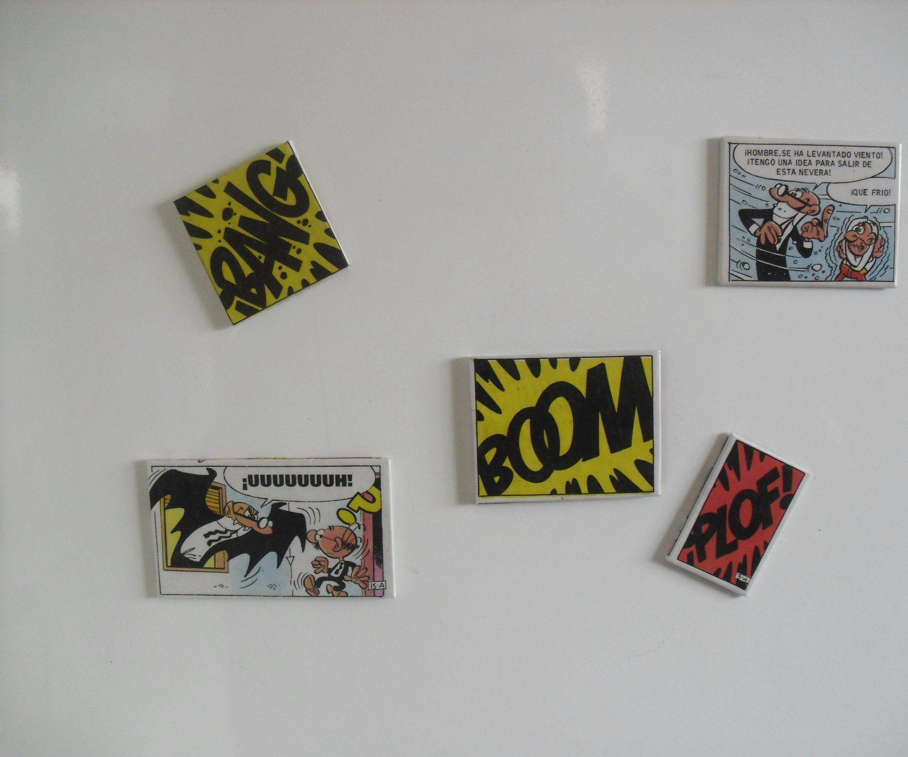 Comic Onomatopoeia Fridge Magnet