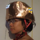 Accelerometer-controlled LED Bike Helmet