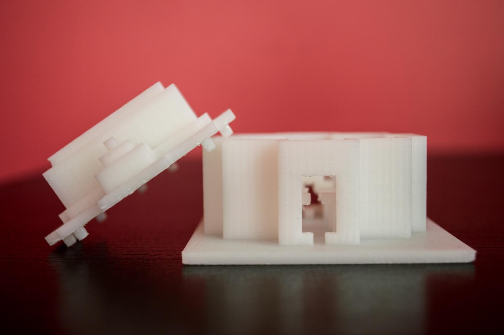 Social 3D Printing in Minecraft