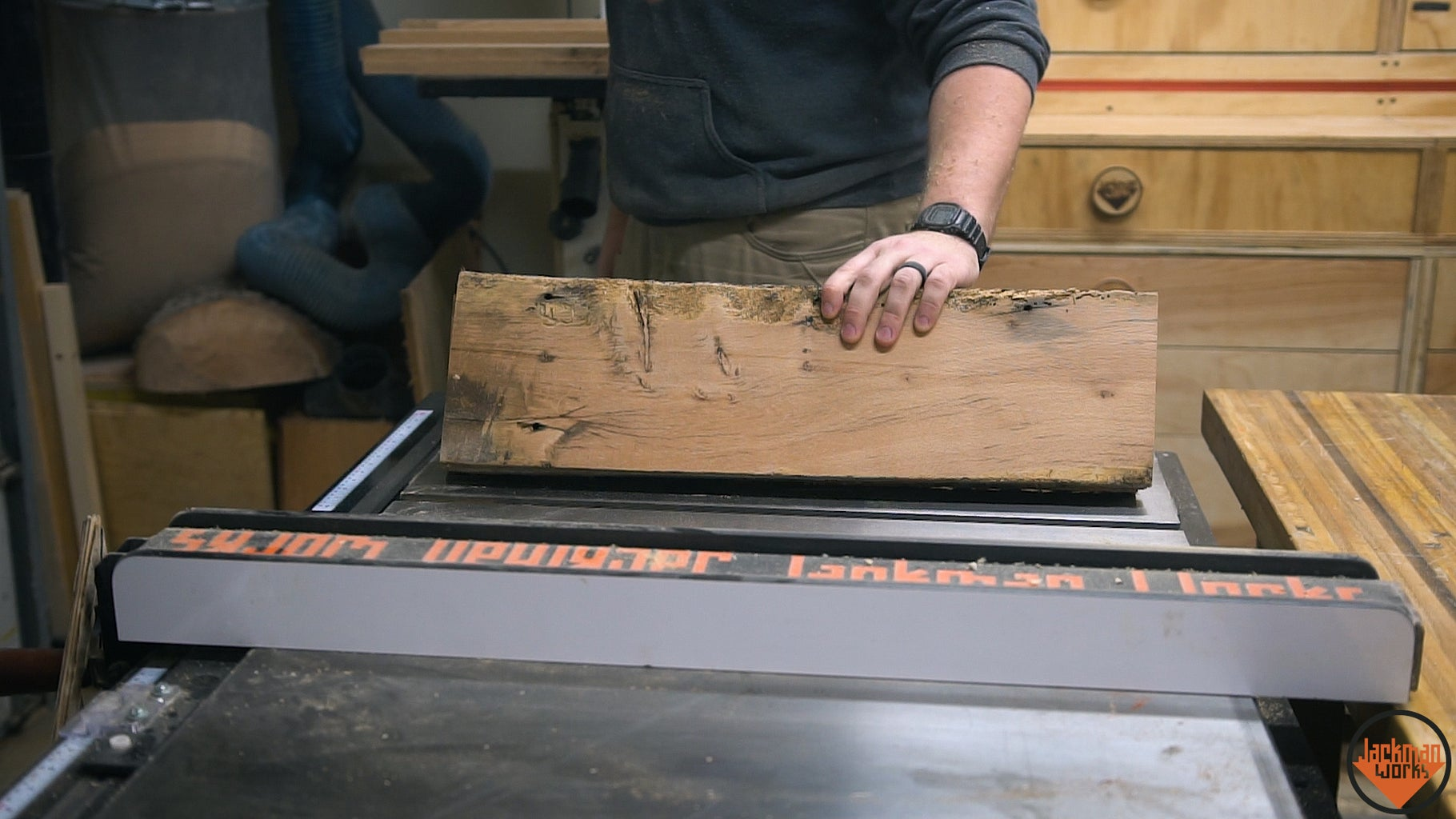 Cutting Materials Down to Width