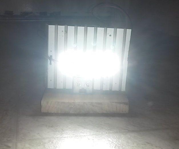 12V SLA Powered 15W LED Lamp
