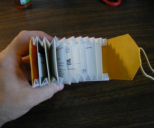 Accordion-Style Card Wallet