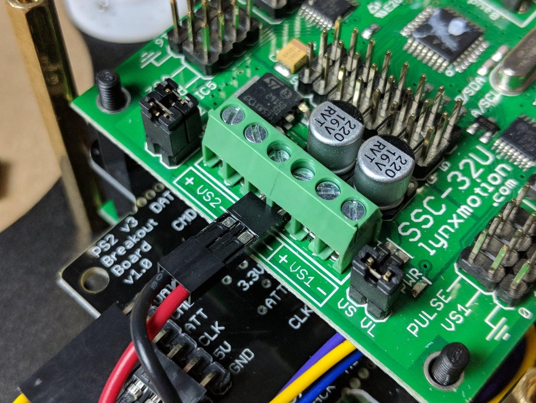 Add the SSC-32 Servo Controller
