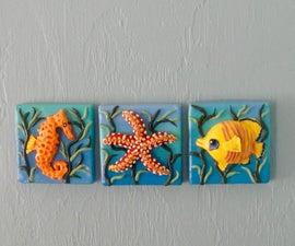 Sea Life Triptych