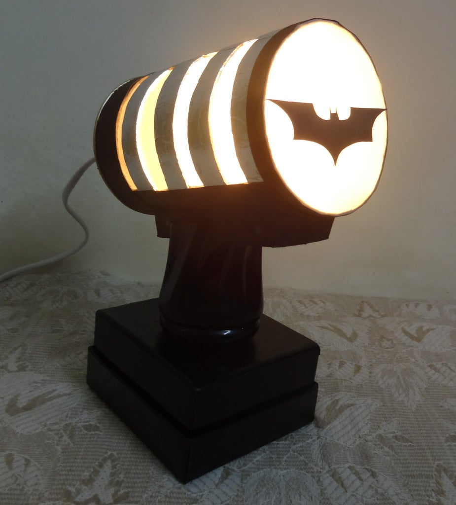 Electrical Work and Final Lamp!