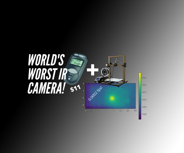 Make the World's Cheapest and Worst IR Camera!