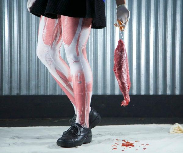 DIY Graphic Leggings - Skinned