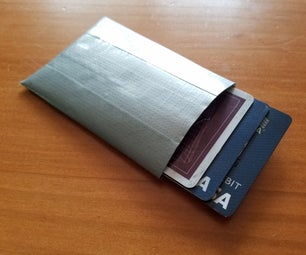 Simple RFID Blocking Wallet