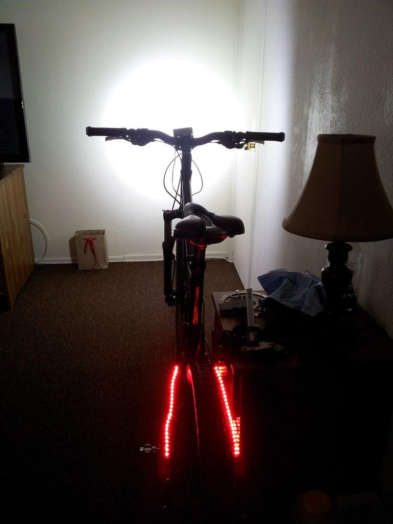Over 7000 Lumen Bike Light