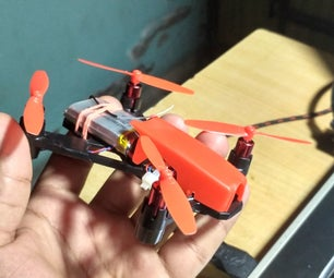 DIY Awesome Brushed Quadcopter