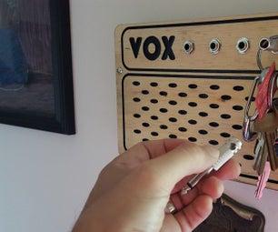 VOX Amp (Inspired) Keychain Holder