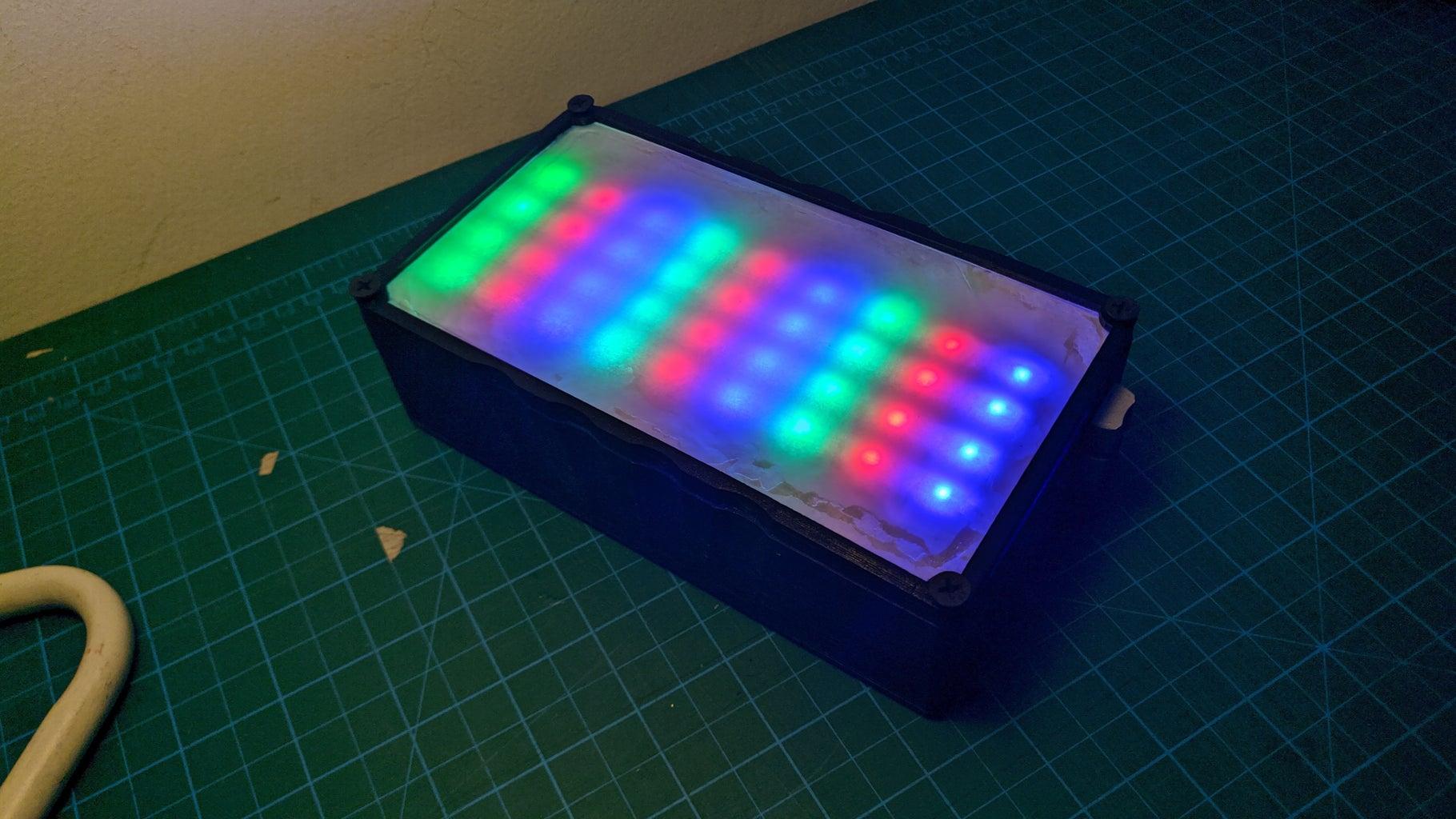 A DIY, RGB Videolight