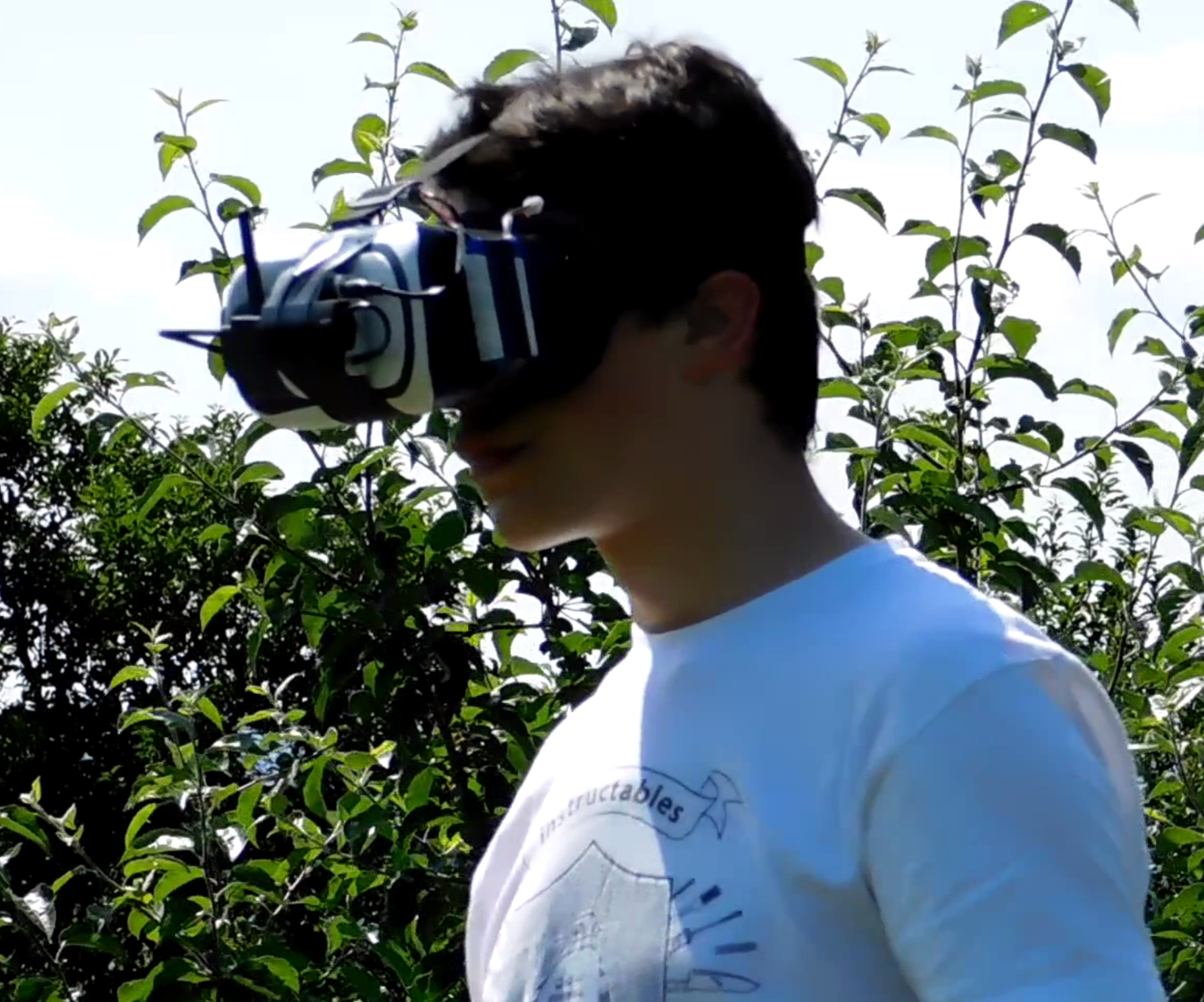 DIY Cheap VR FPV System for Drones, Planes, Cars