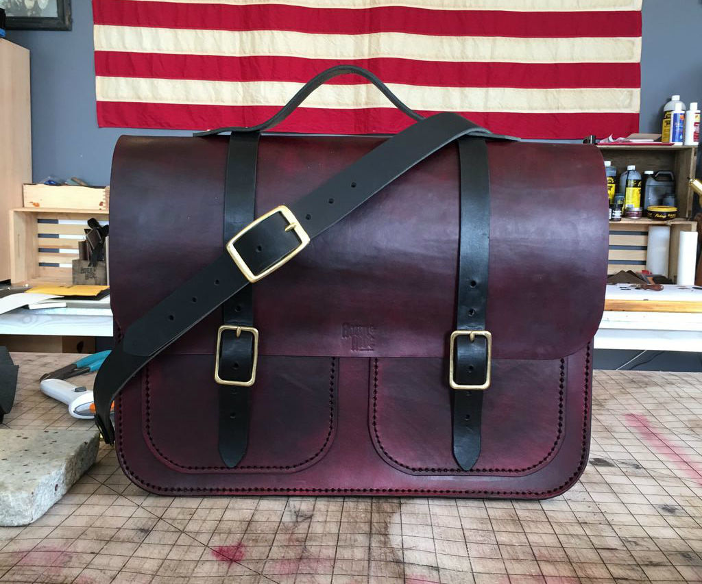 Handcrafted Leather Messenger