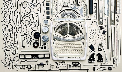 What You Never Want to Do to a Typewriter