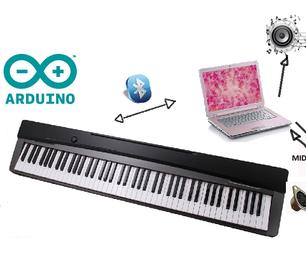Sensitive Piano - 88 Keys Bluetooth-MIDI. Seeking Funds.