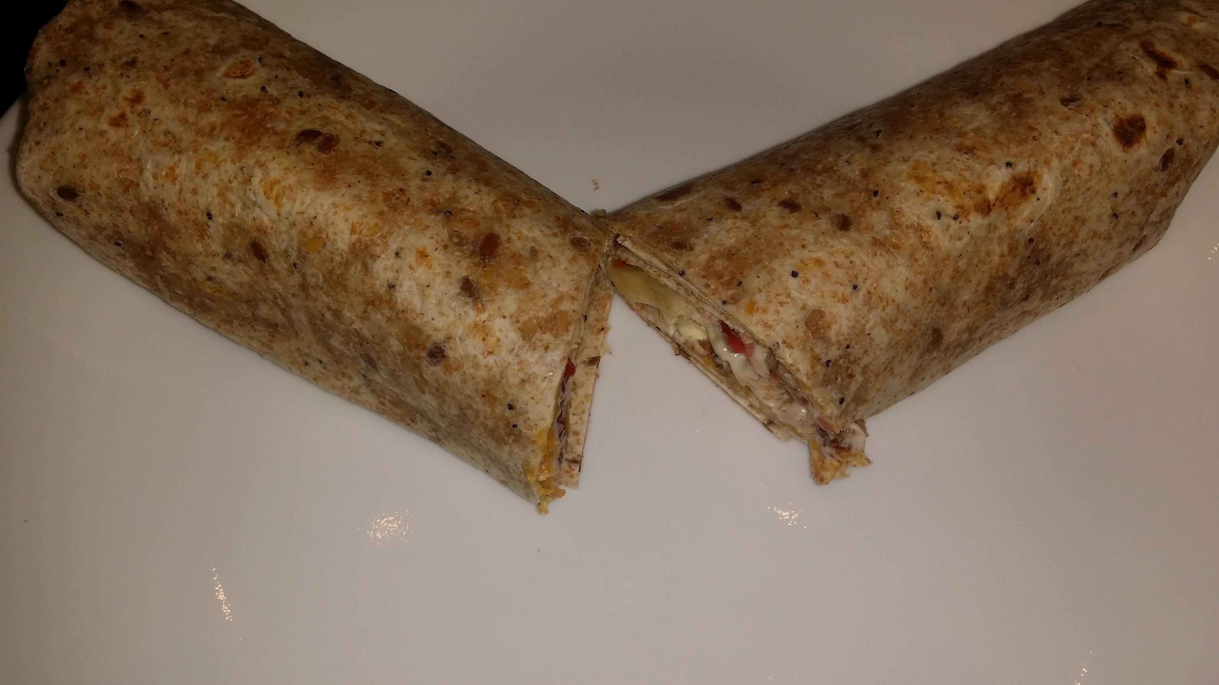 All Day Breakfast Wrap