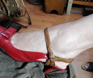 凉鞋和鞋子支撑带