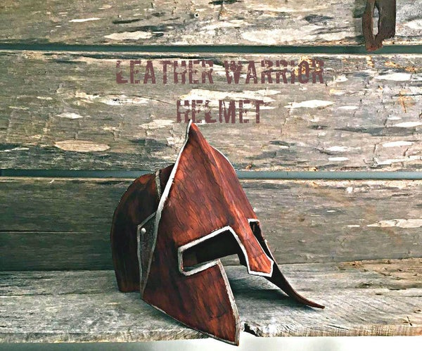 Leather Warrior Helmet
